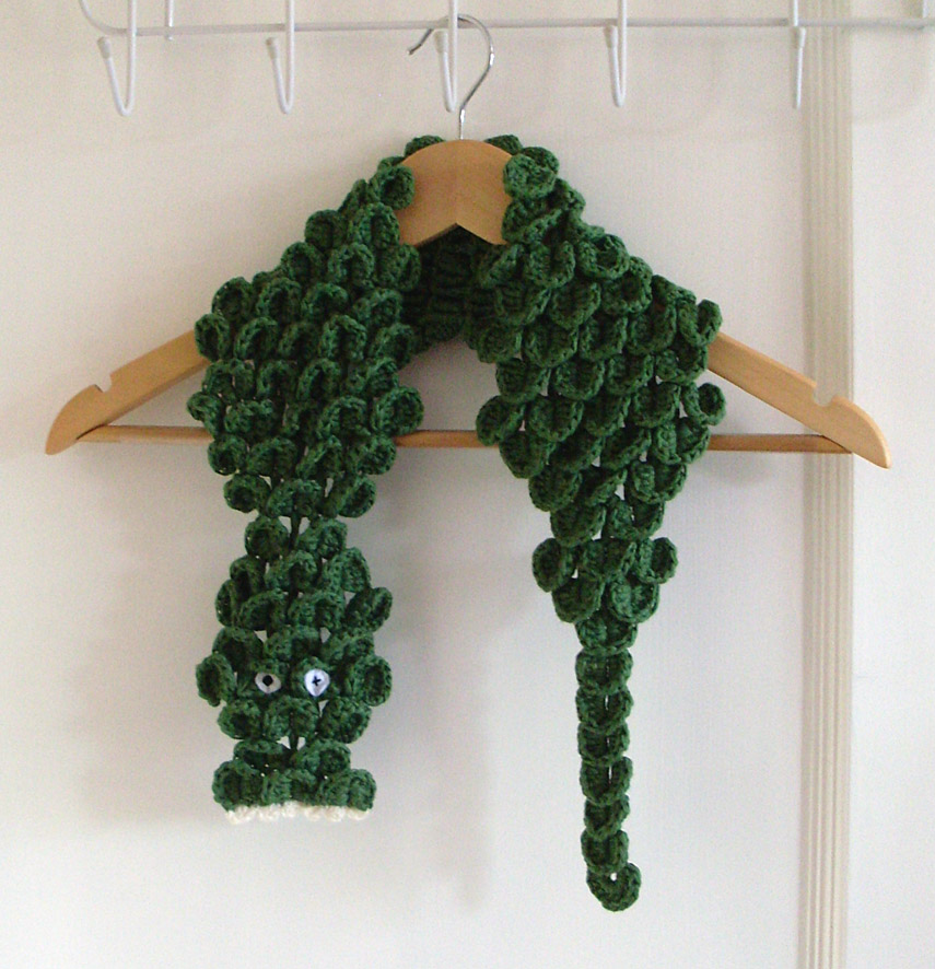 ˜Crocodile scarf 1