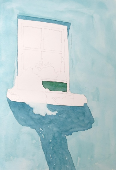 turquoise window watercolour (3)