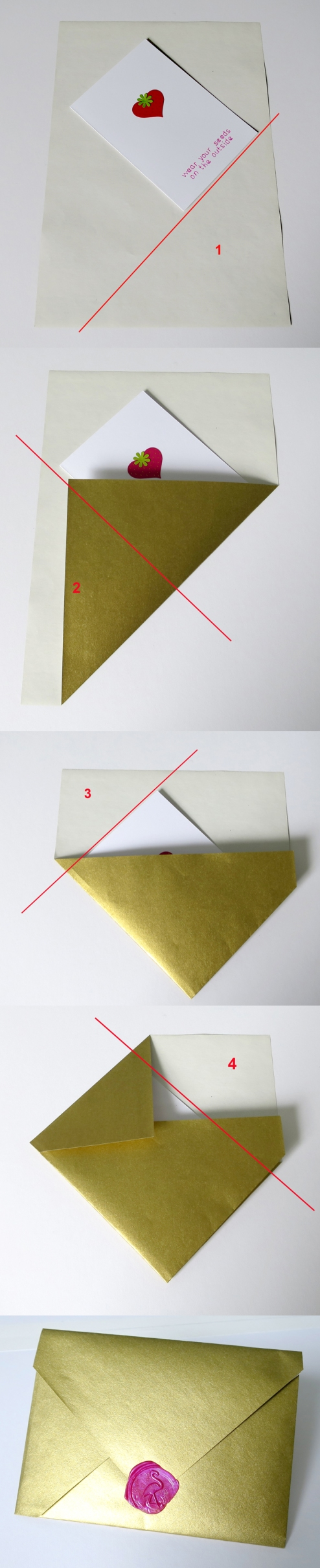 diy envelope from A4 paper
