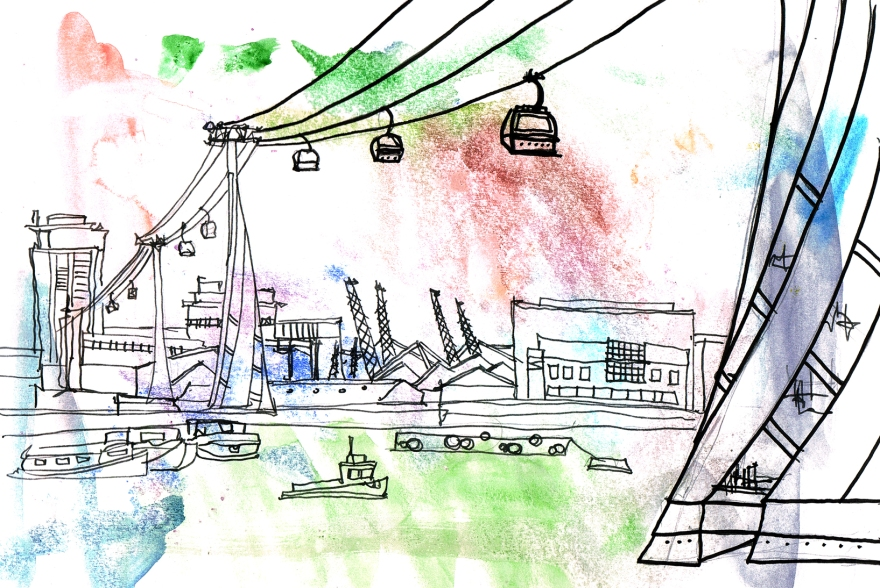 draw the line cable cars