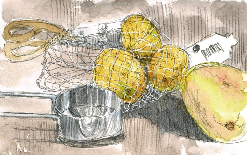 meal sketch 1 watercolour