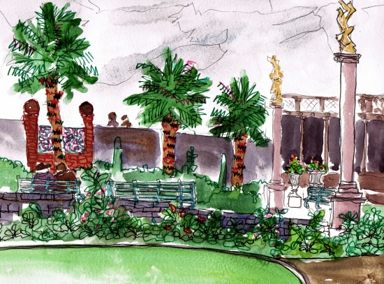 portmeirion illustration 1