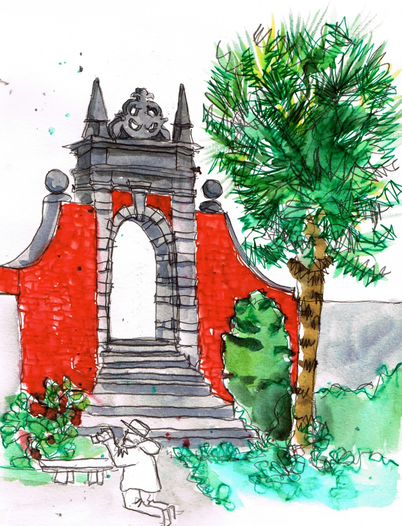 portmeirion illustration 2