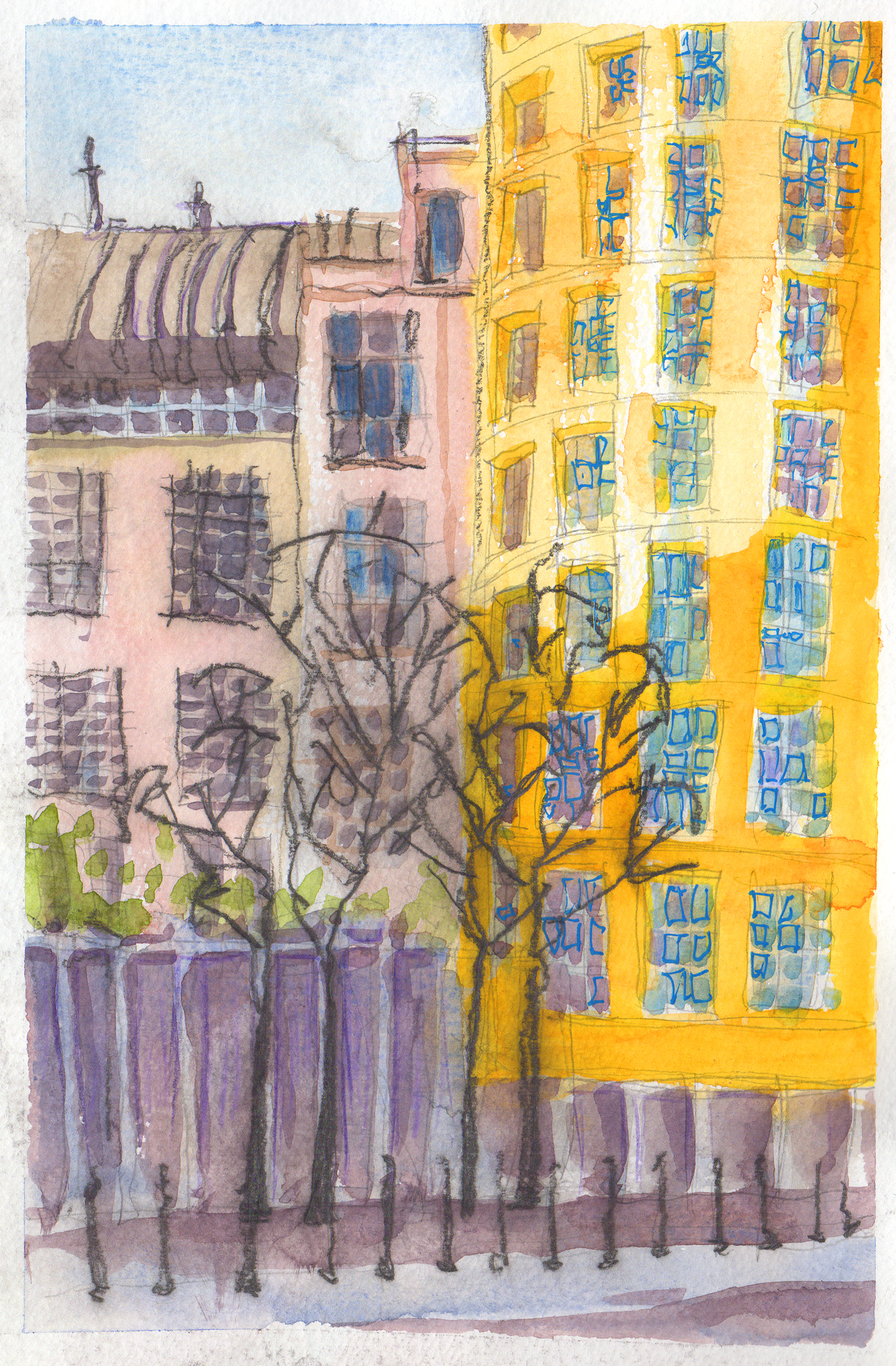 yellow-building-scan