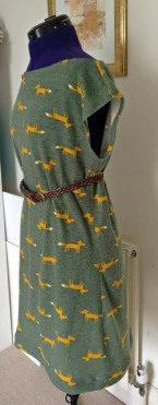glitter shrug fox dress (2)