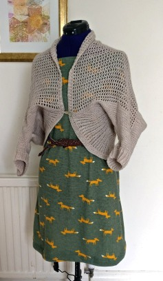glitter shrug fox dress (3)