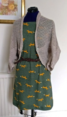 glitter shrug fox dress (4)
