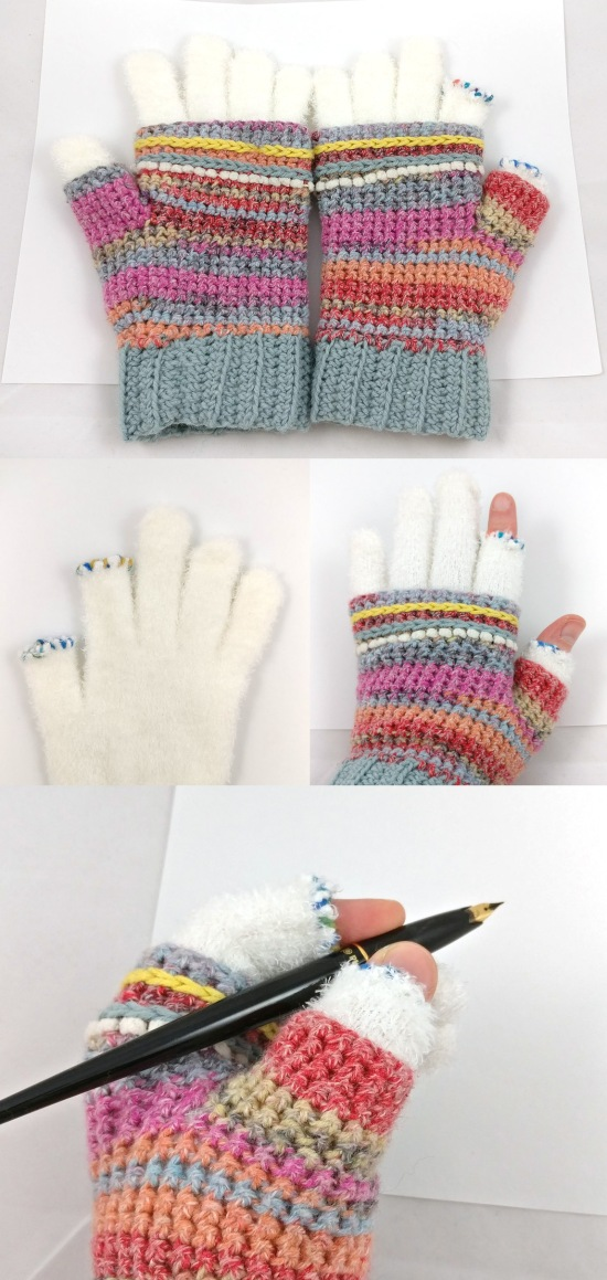 urban sketching gloves