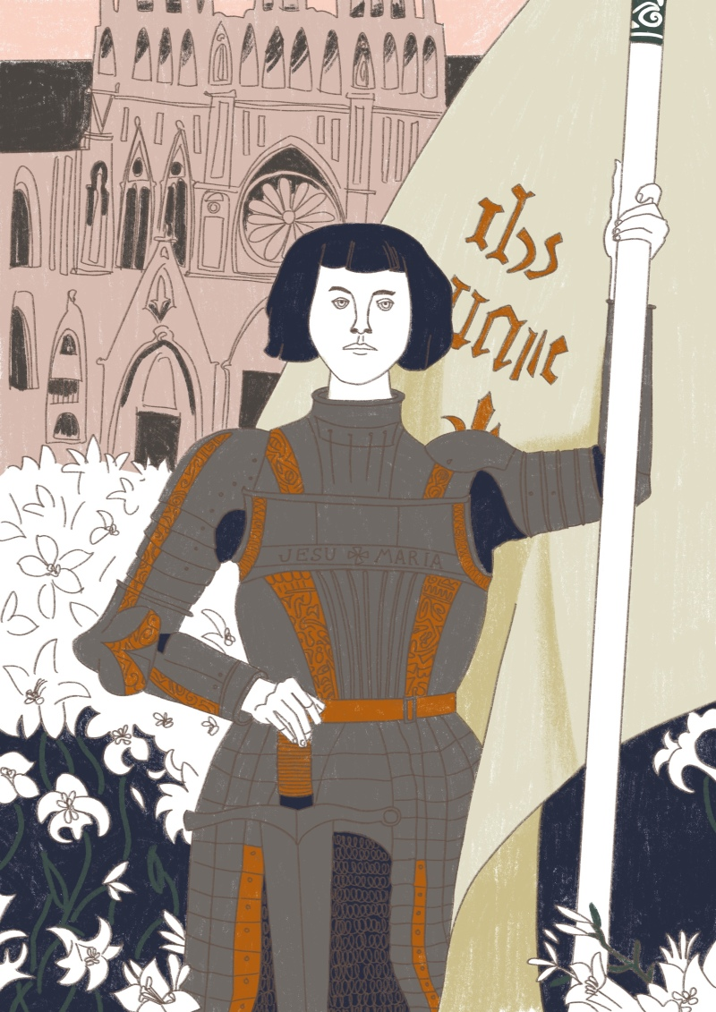 Joan of Arc WIP